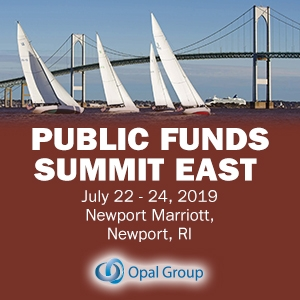 Public Funds Summit East 2019 (Newport, RI) 22-24 Jul