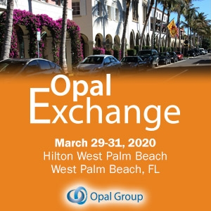 Opal Exchange 2020 (West Palm Beach, FL) 29-31 Mar