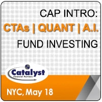 Catalyst Cap Intro: CTAs | Quant | A.I. Fund Investing (New York City) 18 May 2020