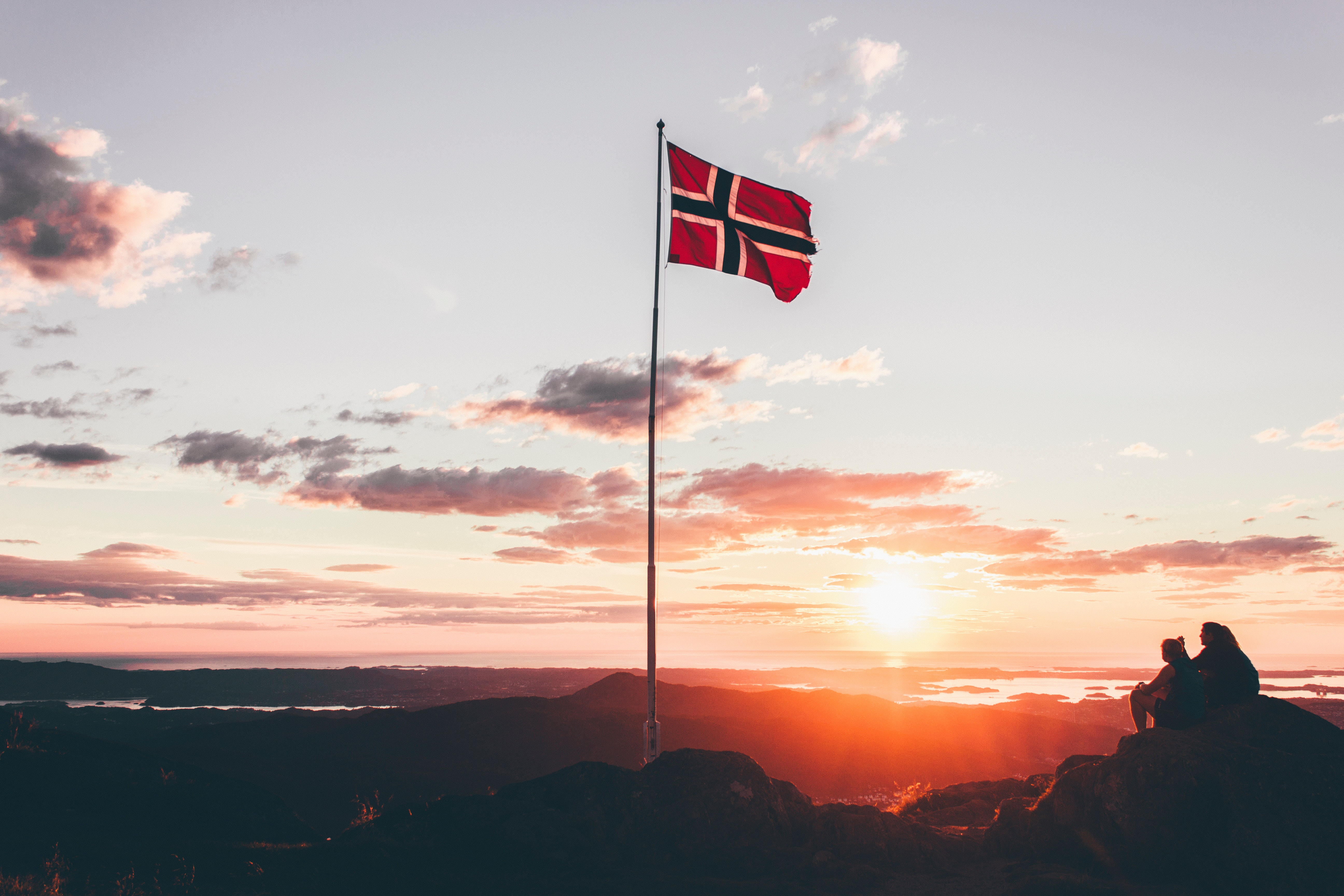 Norway flag Largest SWFs