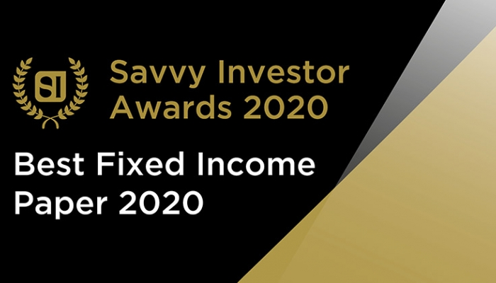 Best Fixed Income Paper 2020