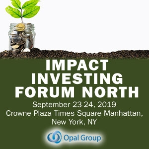 Impact Investing Forum 2019 (New York City) 23-24 Sep