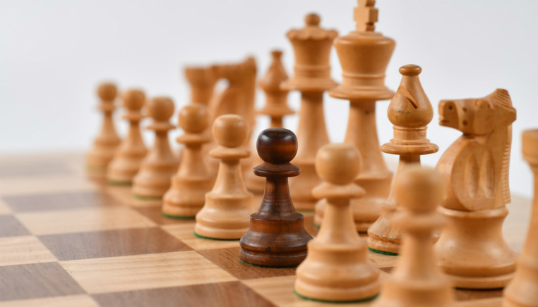 chess pieces brown pawn