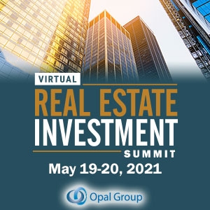 Virtual Event 19-20 May 2021: Real Estate Investment Summit