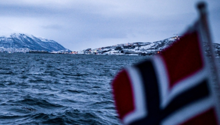 norway flag boat