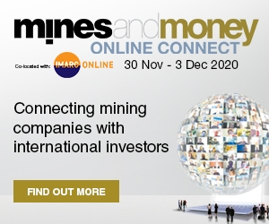 Virtual Event 30 Nov - 3 Dec 2020: Mines and Money Online Connect