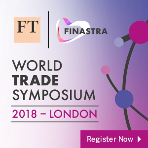World Trade Symposium 2018 (London) 5-6 Dec