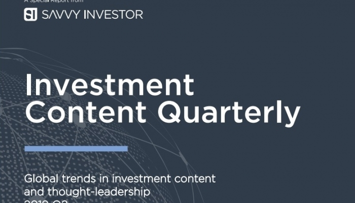Savvy Investor - Investment Content Quarter Apr 2019