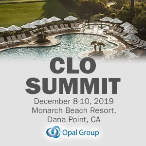 CLO Summit 2019 (Dana Point, CA) 8-10 Dec