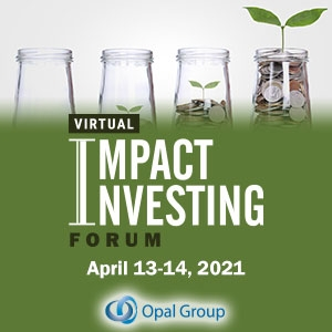 Virtual Event 13-14 Apr 2021: ESG & Impact Investing Forum