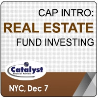 Catalyst Cap Intro: Real Estate Fund Investing (New York City) 7 Dec 2020