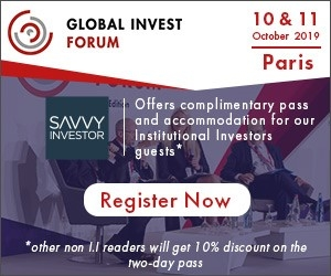 Global Invest Forum (Paris) 10-11 Oct 2019