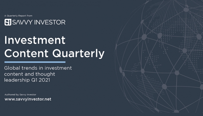 Savvy Investor Investment Content Quarterly Q1