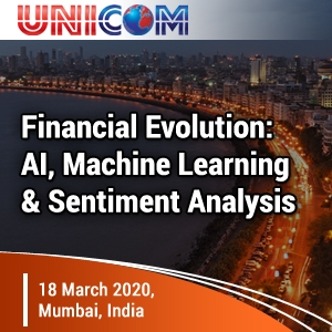 Financial Evolution: AI, Machine Learning & Sentiment Analysis (Mumbai) 18 Mar 2020