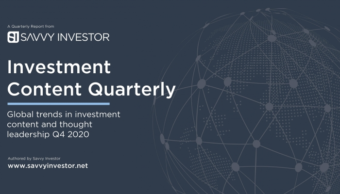 Investment Content Themes and Trends Q4