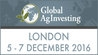 Global AgInvesting Europe 2016 (London) 5-7 Oct