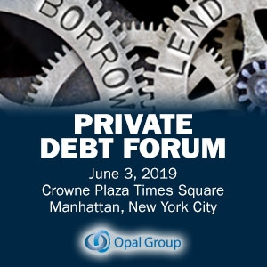 Private Debt Forum 2019 (New York City) 3 Jun