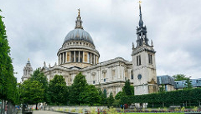 St Pauls Cathedral financial market history papers