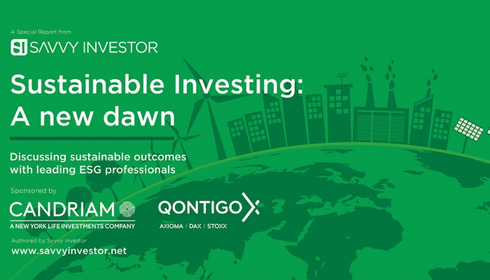 Sustainable investing special report banner
