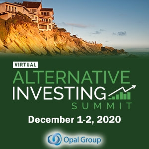 Virtual Event 1-2 Dec 2020: Alternative Investing Summit