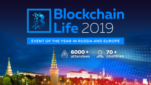 Blockchain Life 2019 (Moscow) 16-17 Oct