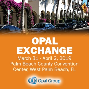 Opal Exchange 2019 (West Palm Beach, FL) 31 Mar-2 Apr