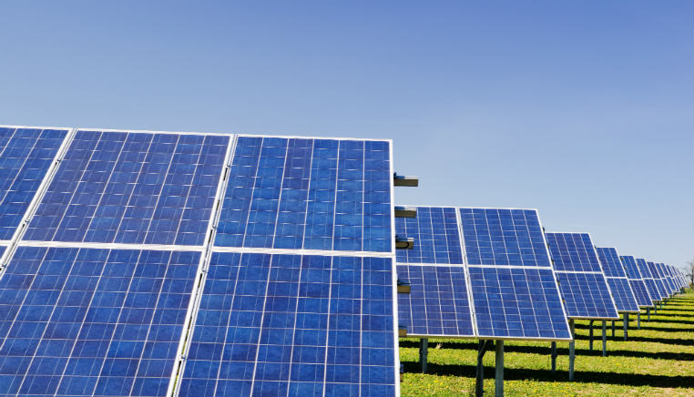 solar panels green finance