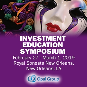 Investment Education Symposium 2019 (New Orleans, LA) 27 Feb-1 Mar