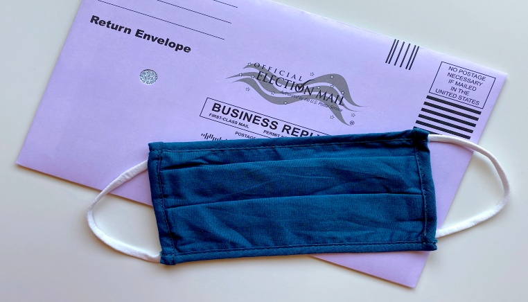 us ballot mask