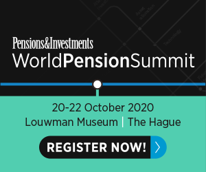 WorldPensionSummit (The Hague) 20-22 Oct 2020