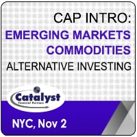 Catalyst Cap Intro: Emerging Markets | Commodities Alternative Investing (New York City) 2 Nov 2020